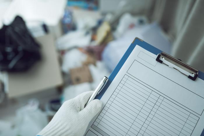 遺品整理を特殊清掃に依頼する手順を解説
