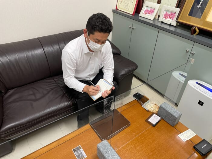 山野石材株式会社のスタッフ中野さんにインタビュー