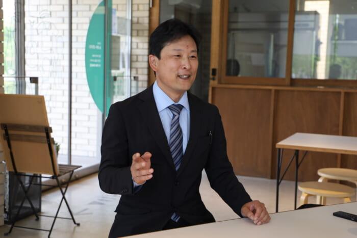 株式会社むさしのスタッフの滝澤さんにインタビュー