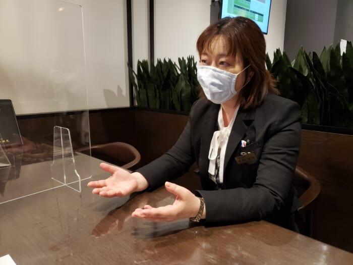 本駒込陵苑スタッフの星野さんにインタビュー