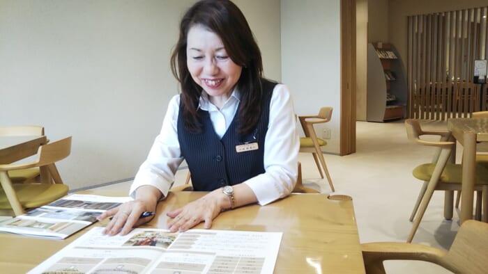 蔵前陵苑スタッフの小池紀美江さんにインタビュー