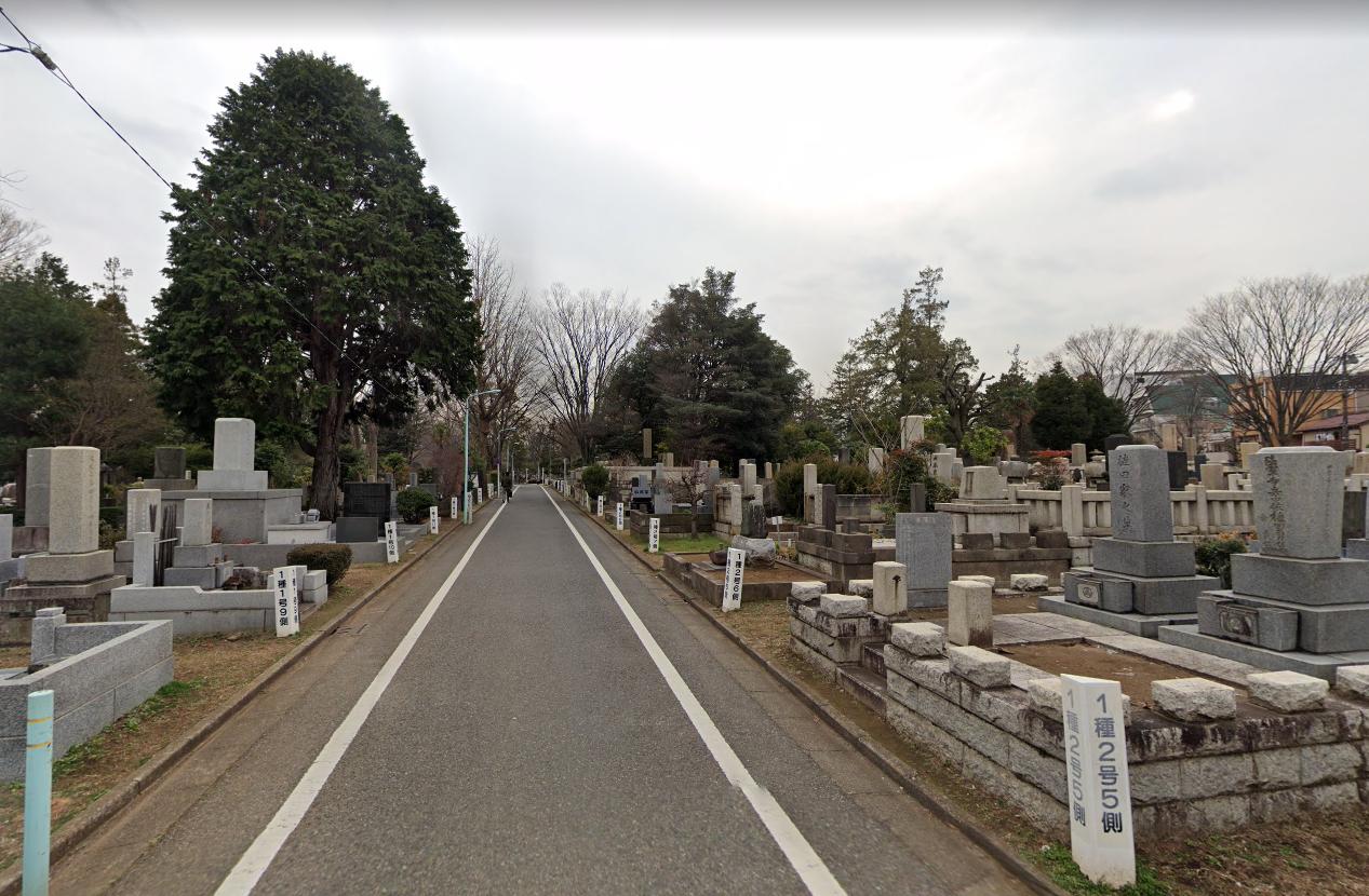 雑司ヶ谷霊園(ぞうしがやれいえん)